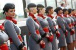 """Что нужно для того чтобы работать стюардессой – Как стать стюардессой? Где учиться на стюардессу? Как стать стюардессой """"Аэрофлота""""? :: SYL.ru"""